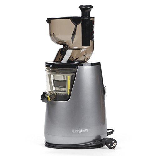 Topwave big estrattore di succo a freddo professionale, bocca larga, argento