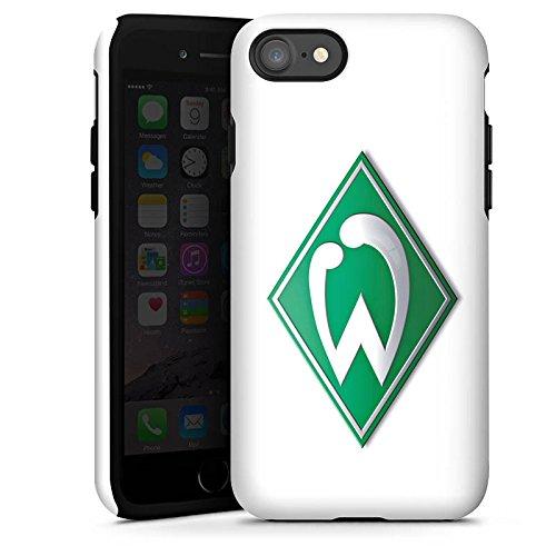Apple iPhone 6s Silikon Hülle Case Schutzhülle Werder Bremen Fanartikel fußball Tough Case glänzend