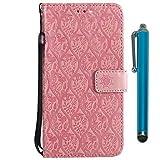 Handy schützen, Hülle Für Samsung Galaxy S9 Plus / S9 Geldbeutel/Kreditkartenfächer / mit Halterung Ganzkörper-Gehäuse Blume Hart PU-Leder für S9 / S9 Plus / S8 Plus für Samsung