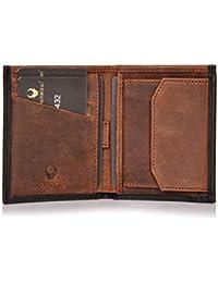 DONBOLSO® Rom I Slim Wallet aus Leder mit Münzfach Herren