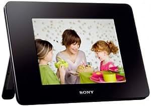 """Sony DPF-D830 Cadre photo numérique 8"""" 800 x 600 pixels Mémoire interne 2 Go Noir"""