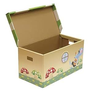 Krooom k 901 cassettone giochi e giocattoli - Como hacer un baul para guardar juguetes ...