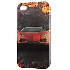 a AND b Designer Printed Mobile Back Cover / Back Case For Apple iPhone 5 / Apple iPhone 5s (5S_3D_2039)