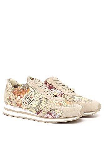 Sneaker donna Liu-Jo S16001 Marguerite beige/naturale P/E 2016 (38)