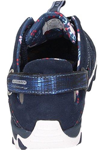 Allrounder by Mephisto Damen Niwa Sneaker Blau