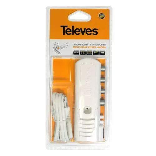 Televes 552840 AMP.VIV. 2S+TV 'CEI' 47.790MHZ G20DB