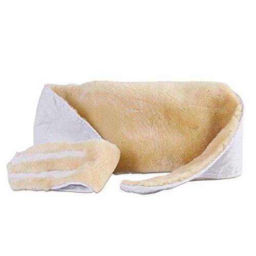 Nierengurt aus Lammfell Natur Öko Nierenschutz Nierenwärmer in der Größe M für 95 - 110 cm Umfang