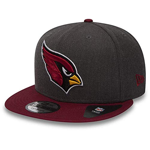 New Era NFL Heather 9Fifty Snapback Cap Arizona Cardinals Grau, Size:S/M