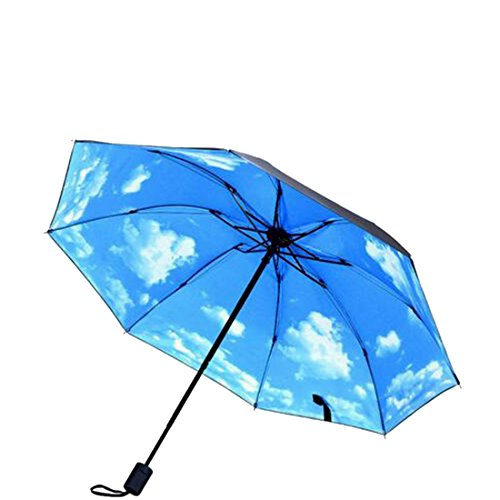 Jiuyizhe Regen Licht Windproof Reise Auto Golf Outdoor & Reverse invertiert kompakte Sonnenschirm (Color : 11)