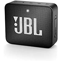 JBL GO 2 Speaker Bluetooth Portatile Cassa Altoparlante Bluetooth Waterproof IPX7 con Microfono, Funzione di Noise Cancelling, fino a 5 h di Autonomia, Nero