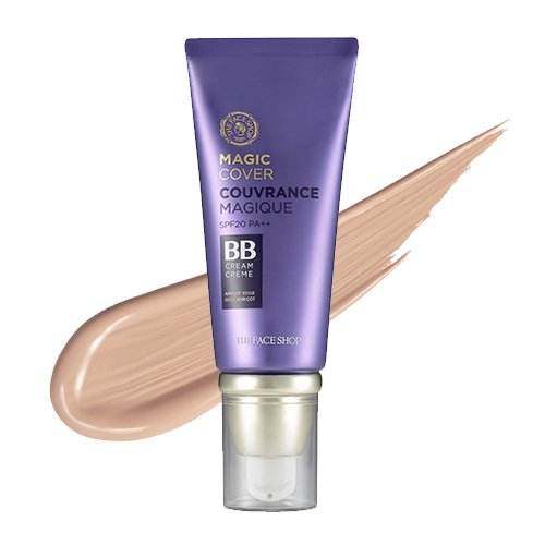 THE FACE SHOP - Face It Magic Cover BB Cream SPF 20 PA++ (#01 Light Beige) 40ml / 1.35 fl. oz. by The Face Shop Korean Beauty