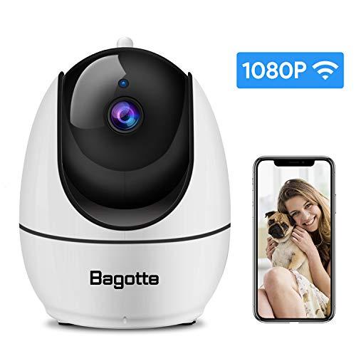Bagotte 1080P Camara IP, Camara de Vigilancia WiFi...