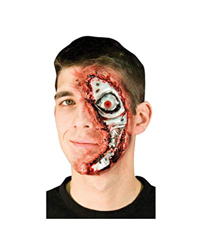 Horror-Shop Große Roboter Wunde (Terminator Kostüm)