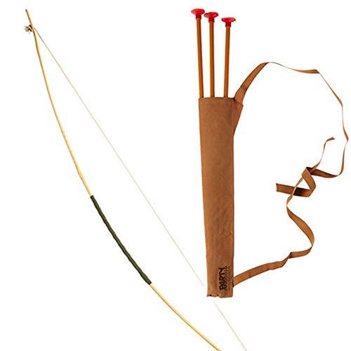 PARTY DISCOUNT Set Pfeil und Bogen, mit Köcher, ca. 100 - Kostüm Pfeil Und Bogen Set