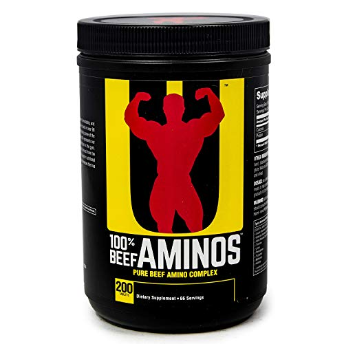 Universal Nutrition, Beef Amino (200 Tabs) Standard, 479 g Ultimate Universal-tablet