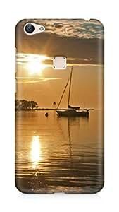 Amez designer printed 3d premium high quality back case cover for Vivo X6 (Coast Beach Line Evening)