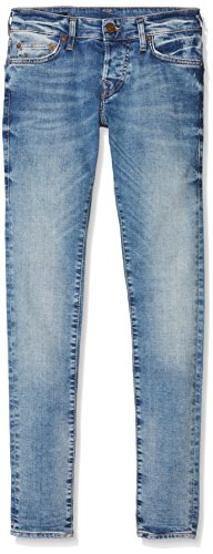 True Religion Herren Skinny Jeans Tony Leg, Blue (Desert Well), 40W x Regulär