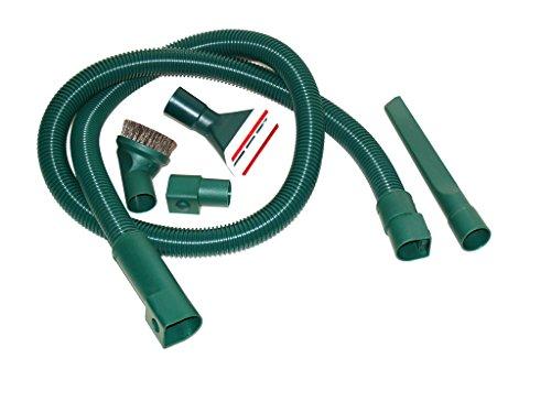 Zubehörset mit Düsen und Schlauch geeignet für Vorwerk Kobold 118 119 120 121 122