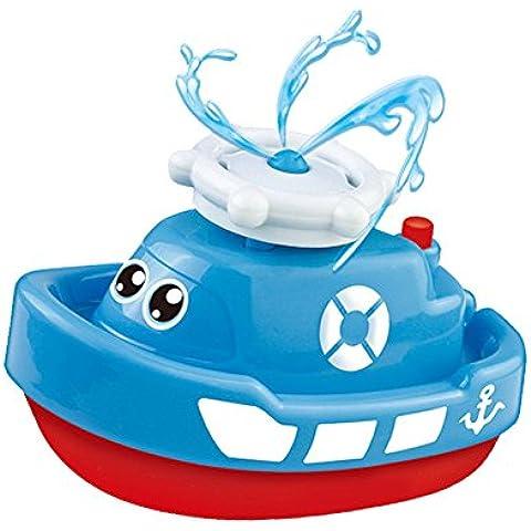 Diseño Lindo Juguete de Baño Forma de Barca Agua Aspersor de Giratorio Bañera Duche para Bebé Niños(Colores Aleatorios)