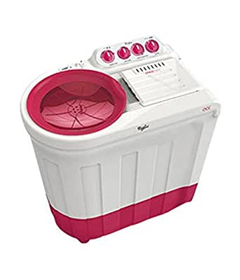 Whirlpool Ace 7.5 Super Soak Semi-automatic Top-loading Washing Machine (7.5 kg, Tulip Pink)