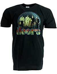 The Doors Vintage Field Black T-Shirt Official Licensed Music