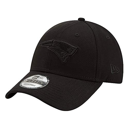 New Era 9Forty Snapback Cap New England Patriots Schwarz Schwarz, Size:ONE Size