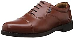Redchief Mens Tan Leather Formals and Lace-Up Flats - 7 UK (RC0959L 006)