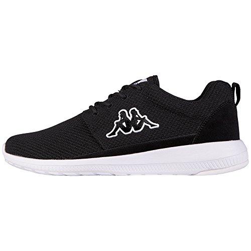 Kappa SPEED II, Unisex-Erwachsene Sneakers, Schwarz (1110 black/white), 38 EU (5 Erwachsene UK)
