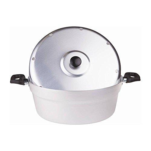 Pentole Agnelli Fornetto per Dolci in Alluminio BLTF, Coperchio e Piastra in Ferro, Argento, 26 cm