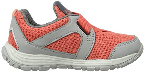 Jack Wolfskin Unisex-Kinder Monterey Ride Vc Low K Sneaker Orange (Hot Coral)