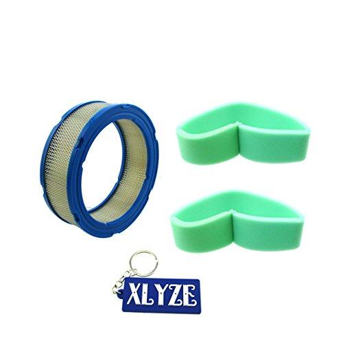 xlyze Luftfilter Vorfilter für Briggs & Stratton 39401841355050b 5050H 2724905052h Kurzzeitmesser Eieruhr 290700402400404400422400LESCO 050367John Deere lg394018jd