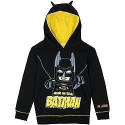 Lego Batman - Sudadera con capucha - Batman - Para Niños - 4 - 5 Años f1e0de1d7c0a