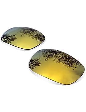Sunglasses Restorer Lentes Polarizadas de Recambio Gold 24K para Oakley Gascan