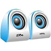 Zebronics Igloo 2.0 Multimedia Speaker (Blue)