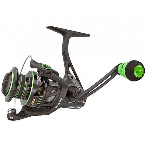 I Metal Speed Spin Spinning Reel with 300 6.2:1 Gear Ratio & 10 Ambidextrous Bearings by Lew's Fishing (Spinning Gear)
