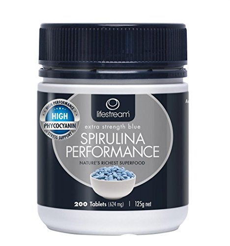 lifestream High Phycocyanin Spiriluna Blue 200 TAB