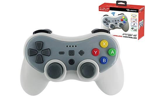 Subsonic Wireless Bluetooth Controller per Console, Grigio - Nintendo Switch