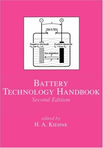 Battery Technology Handbook, Second Edition