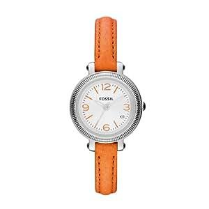 Fossil Damen-Armbanduhr Heather Analog Quarz Leder ES3305