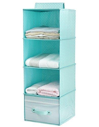 d6f89ab63 Colgando almacenaje de la ropa para Niños con cajón (4 unidades de la  estantería)