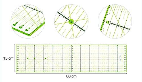 Haltegriff Etc 60 X 15 Cm Lineal Rollschneider SchöN Und Charmant Symbol Der Marke A1 Schneidematte Set Inkl