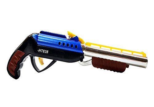 Supertoy 9 Inches Handy Collectible BB Toy Gun Toy - Multi Color