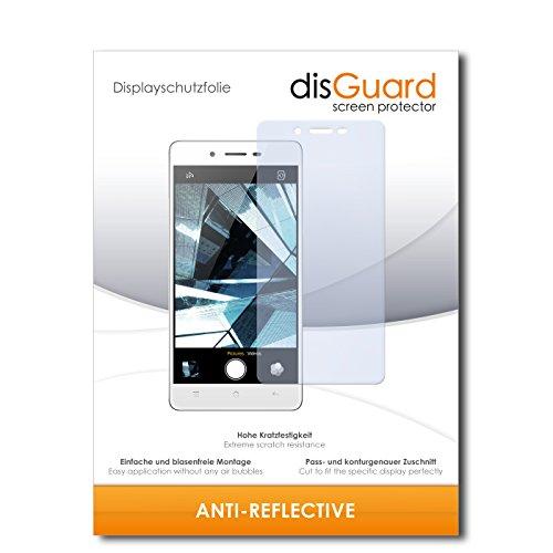 disGuard® Displayschutzfolie [Anti-Reflex] kompatibel mit Oppo Mirror 5s [4 Stück] Entspiegelnd, Matt, Antireflektierend, Extrem Kratzfest, Anti-Fingerabdruck - Panzerglas Folie, Schutzfolie
