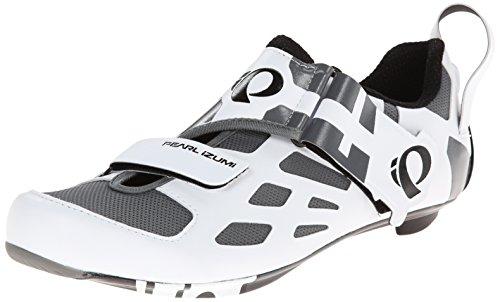 Pearl Izumi | TRI FLY V CARBON Triathlonschuhe Herren | weiß-schwarz, Schwarz/Weiß, 43 EU