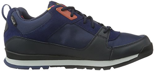The North Face M Back-to-berkeley Mtnsnkr, Sneakers basses homme Mehrfarbig (Cosmicbl/Tnfred F0Z)