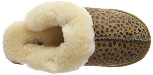 Shepherd - Jessica, Pantofole Donna Multicolore (Multicolore (leopard))