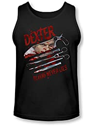 Dexter - Mens Blood Never Lies Tank-Top