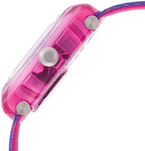 Flik Flak Mädchen Analog Quarz Uhr mit Stoff Armband FPNP016 - 3