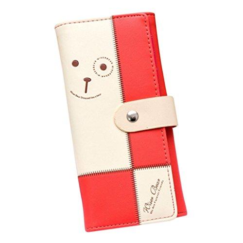 kingko-women-bear-pattern-coin-purse-long-wallet-card-holders-id-card-coin-handbag-girl-bag-watermel