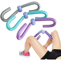 Pierna Ejercicio Entrenamiento máquinas de piernas músculos de la pierna delgada muslos brazo espalda para pérdida de peso o Fitness, azul